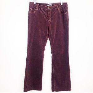 CABI l Velvet Straight Leg Pants